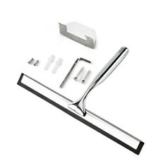 Window Glass Stainless Steel Wiper Cleaner Squeegee Shower Bathroom Mirror Brush