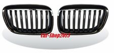 BMW E53 SUV X5 1999-2003 Front Kidney Grilles Black Chrome