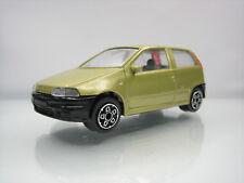 Diecast Bburago Fiat Punto 1/43 Gold Good Condition