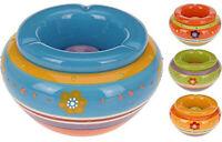 Aschenbecher Keramik 43,5 cm Aschenbecher Windaschenbecher Tisch Porzellan