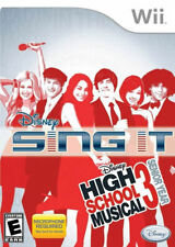 Disney Sing It High School Musical 3 Senior Year WII New Nintendo Wii