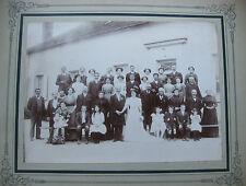 Photographie ancienne Mariage à Augny-sur-Aubois sept 1911 Cher