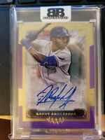 🔥🔥🔥2020 TOPPS FIVE STAR RANDY AROZARENA AUTO PURPLE RC 21/50 HOT!!🔥🔥🔥