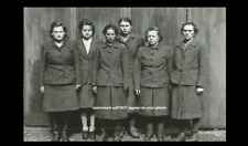 Captured German Female Guards Photo World War Ii,Concentration Camp Holocaust