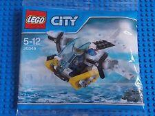 LEGO-City (Set 30346-PRISON Island Elicottero della polizia) Nuovo di zecca.