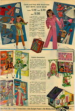 1970 PAPER AD Doll Candy Polly Flatsie Generation Upsy-Downsy Mattel Know-It-All