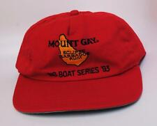 """Rare Vintage """"MOUNT GAY ECLIPSE BARBADOS RUM"""" """"BIG BOAT SERIES '93"""" Baseball Cap"""