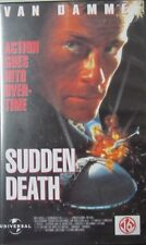 SUDDEN DEATH  - VHS