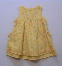 "Gymboree ""Sunflower Fields"" Sunflower Print Yellow Apron Dress, 12-18 mos."