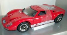 Eagle's Race 1/18 Scale - 2100 Ford GT40 Red
