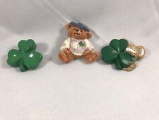 Three St. Patrick's Day pins - 2 are by Hallmark