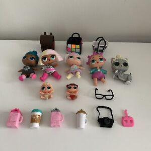LOL Surprise Dolls Bundle Bulk Lot MGA - Dolls Baby Pet Bags Drinks Accesories