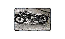 Dkw Sb250 Motorbike Sign Metal Retro Aged Aluminium Bike