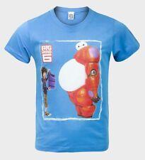 Official Big Hero 6 Boys T-shirt Blue/navy Disney 8 Years 128cm Blue