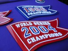 RED SOX 3D 2018 SET of 4 WORLD SERIES banners FENWAY Park BOSTON Champions