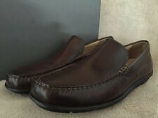 ECCO Classic Moc Slip-on Coffee Leather Low Cut Shoes US 11 - 11.5 M EU 45 NWB