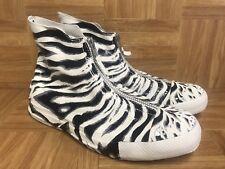 d9ff93f07985 RARE🔥 Converse Chuck Taylor All Star Zebra Shroud Women s Zip Sneakers  Size 7.5
