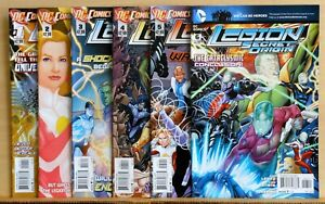 Complete set of all 6 Legion Secret Origin comics #1 to #6 - 2012 DC - NM (9.4)