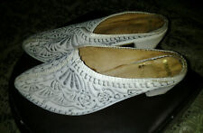 Embroidered Slippers Babouche Mules Moroccan Henna Party Bridal Caftan Shoes