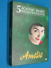 Amelie 2-Disc Dvd - Like New - Free Shipping!