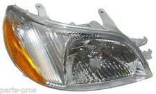 New Replacement Headlight Assembly RH / FOR 2000-02 TOYOTA ECHO