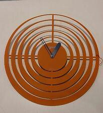 Lowell - Reloj de pared ø 40 cm cod.058410 Naranja - DETALLISTA