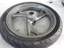 E3. Yamaha TDM 850 3VD Felge Vorne 3,00x18Zoll Vorderradfelge + Reifen