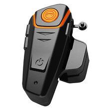 1000m Waterproof BT-S2 Motorcycle Helmet Bluetooth Headset Motorbike Intercom