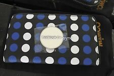 MIMCO Lunar Aloha Zip Mariner Blue Non Leather Wallet New w/ Tags RRP $149