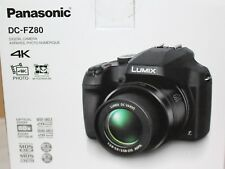 Panasonic LUMIX DC-FZ80 18.1MP Digital Camera - Black