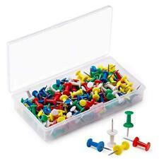 160pcs Push Pins For Cork Boardpush Pins For Wallvarious Colors Push