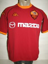 AS ROMA 2002-03 HOME PLAYER ISSUE SHIRT KAPPA SIZE M