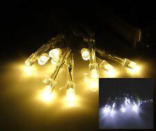 Led Lichterkette Batterie warmweiss kalt weiss innen Lichterketten Leds 10 20 30
