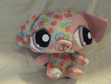 "Littlest Pet Shop Happiest Dog  Hasbro Plush Soft Toy Stuffed Animal 7"""