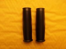 MOTORCYCLE GRIPS 7/8 & 1 Inch  ribbed Universal fits many handle bar