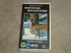Whitetail Encounters VHS Twelve Kills Instructional '89