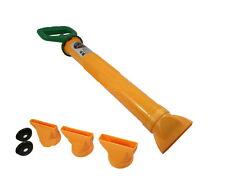 Patio Paving Grout Brick Pointing Mortar Applicator Gun Tool 4 Nozzle Gouting
