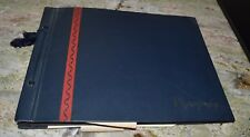 Vintage 1946 Camp Audubon Ward CO Scrapbook Burlington Railroad Silver Dome Trai