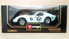 Ferrari 250 GTO #15 (1962) scala 1/18 Bburago Burago Made in Italy