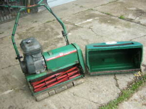 RANSOMES MARQUIS 61 PETROL CYLINDER LAWN MOWER