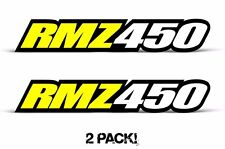AMR Racing Suzuki RMZ 450 Swingarm Graphic Kit Number Plate Decal Sticker Part