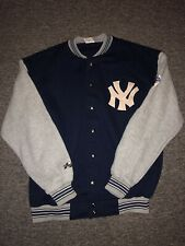 NY Yankees 1998 World Series Sweatshirt Jacket Button Up Great Condition Size XL