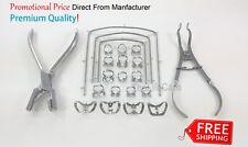Dental Rubber Dam Set Kit Detnal Filling Instrumetns 22 Pieces free shipping New