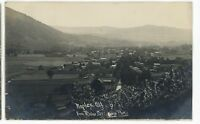 RPPC View of NAPLES NY Finger Lakes Ontario County Real Photo Postcard