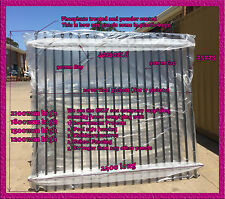 2100mm High Security Fence,Crimp top, School Fence 2.1m