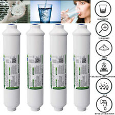4Pack ROWater Filter System Inline Kitchen Home Filtration Purifier CARBON5Stage