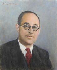 Jacques WEISMANN (1878-?) Portrait d'une personnalité Fernand Cormon Châteauroux