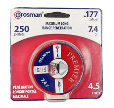 Crosman Pellet Blister Pack .177 Caliber 7.4 Grain 250/Card P177