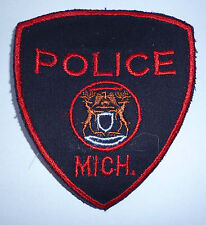"""OBSOLETE US POLICE PATCH """"MICH"""""""