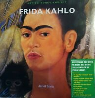 Art Ed Books And Kit Frida Kahlo by Janet Boris NEW! FACTORY SEALED!